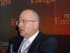 Piotr Zborowski, prezes zarządu Elektrociepłowni Stalowa Wola S.A. omówił etapy realizacji budowy bloku gazowo-parowego z członem ciepłowniczym w EC Stalowa Wola