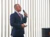 Paweł Gajewski, prezes zarządu Polskiego Stowarzyszenia Wykonawców Izolacji Przemysłowych zaprezentował normę PN-B-20105 - izolacja cieplna wyposażenia budynków i instalacji przemysłowych. Wymagania dotyczące projektowania, wykonania i odbioru robót