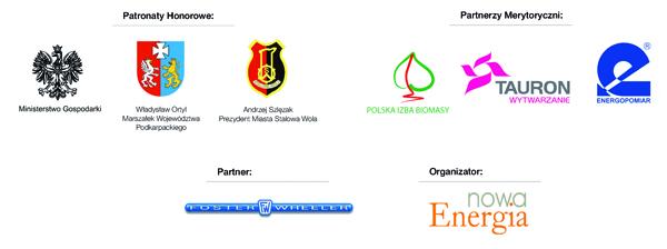 Logotypy BIOMASA szer. 600 pikseli